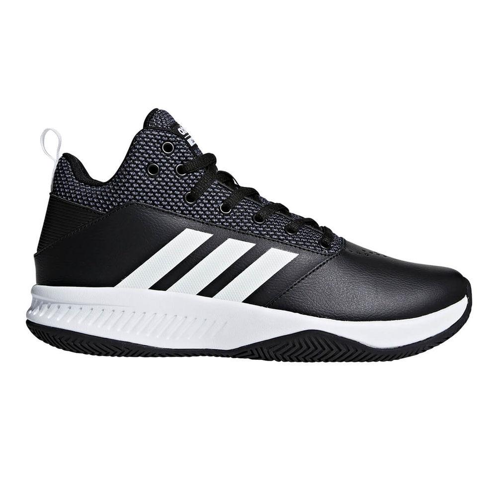 アディダス adidas メンズ バスケットボール シューズ・靴【Illation 2.0 Wide Width Baskteball Shoe】Black/White