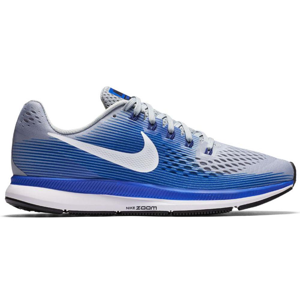ナイキ Nike メンズ ランニング・ウォーキング シューズ・靴【Air Zoom Pegasus 34 (Wide Width) Running Shoe】Grey/Blue