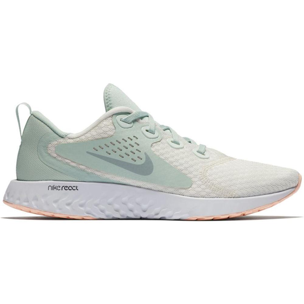 ナイキ Nike レディース ランニング・ウォーキング シューズ・靴【Legend React Running Shoe】White/Grey
