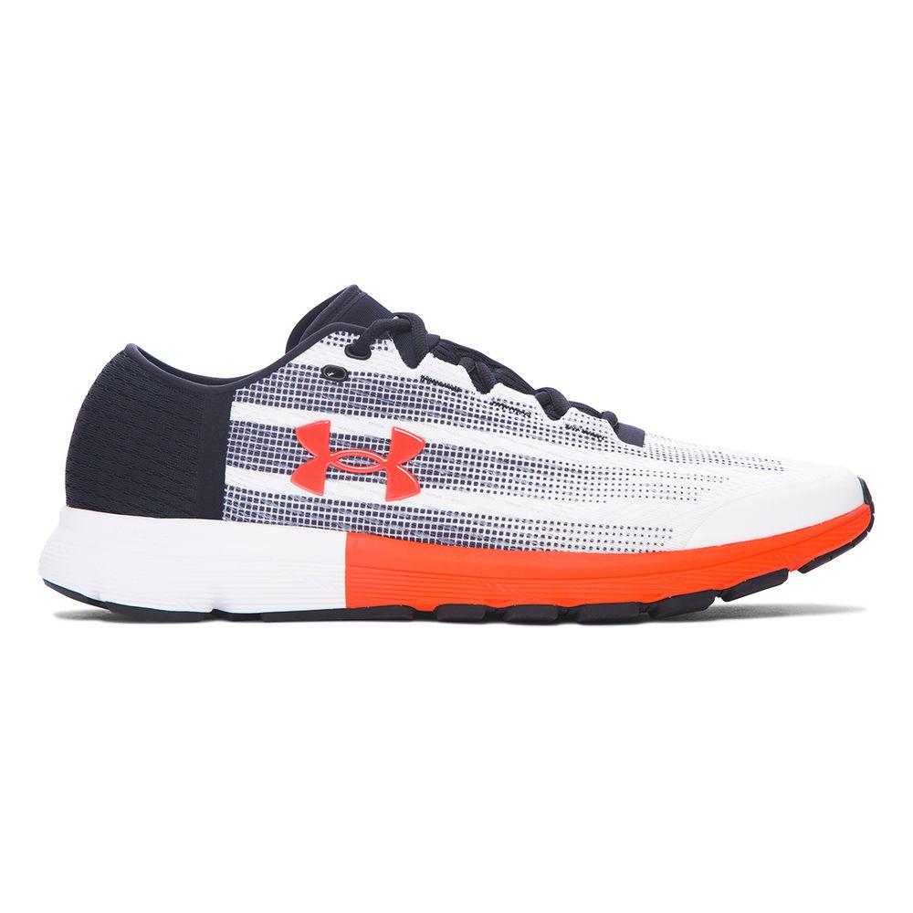 アンダーアーマー Under Armour メンズ ランニング・ウォーキング シューズ・靴【SpeedForm Velociti Running Shoe】White/Black/Red