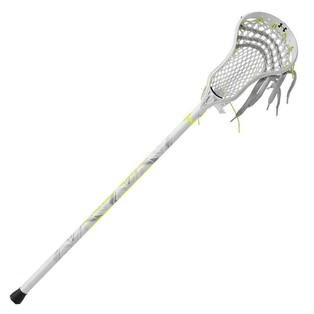 アンダーアーマー Under Armour ユニセックス ラクロス クロス【Adult Headline Complete Lacrosse Stick】Silver