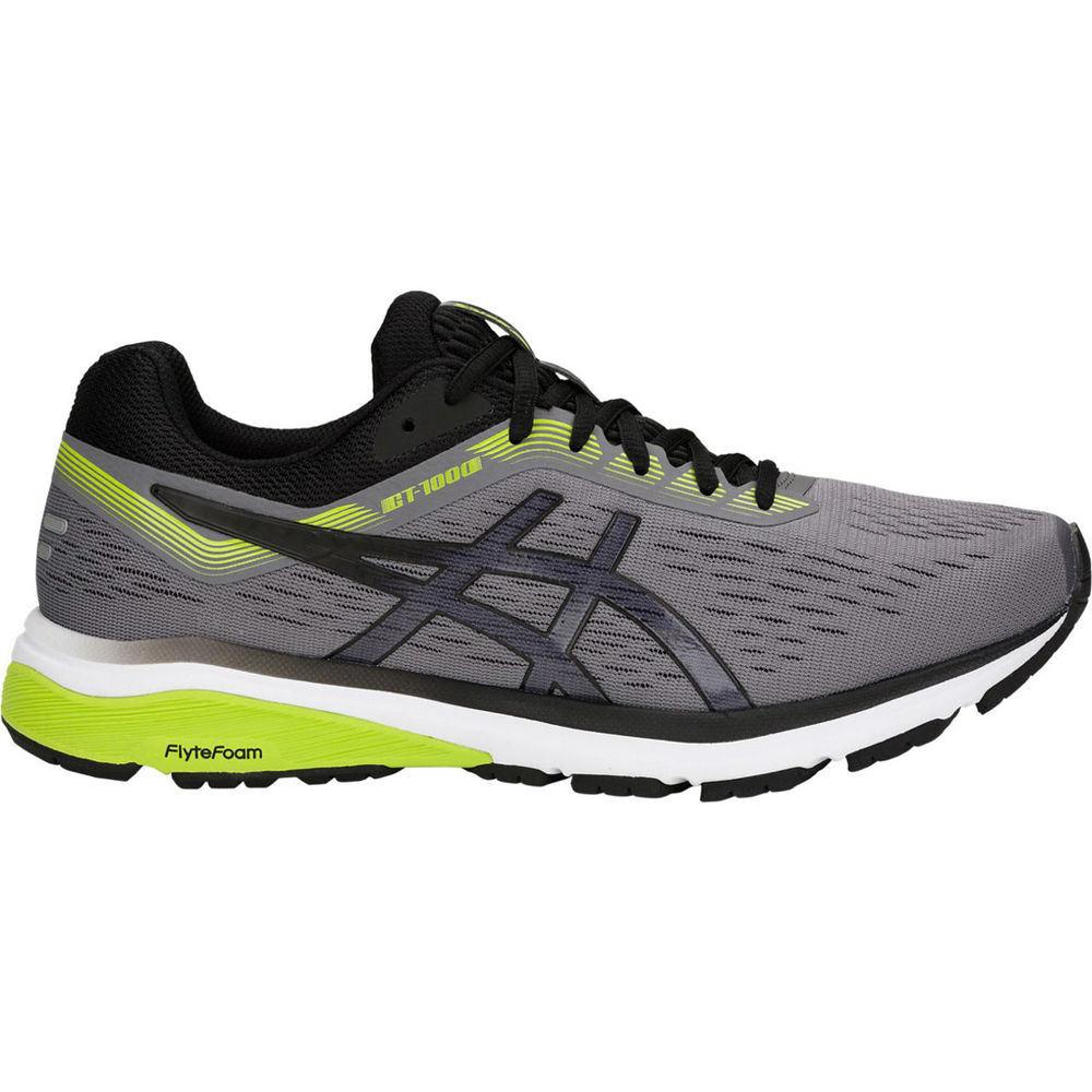 アシックス ASICS メンズ ランニング・ウォーキング シューズ・靴【GT-1000 7 (4E) Wide Width Running Shoe】Grey/White