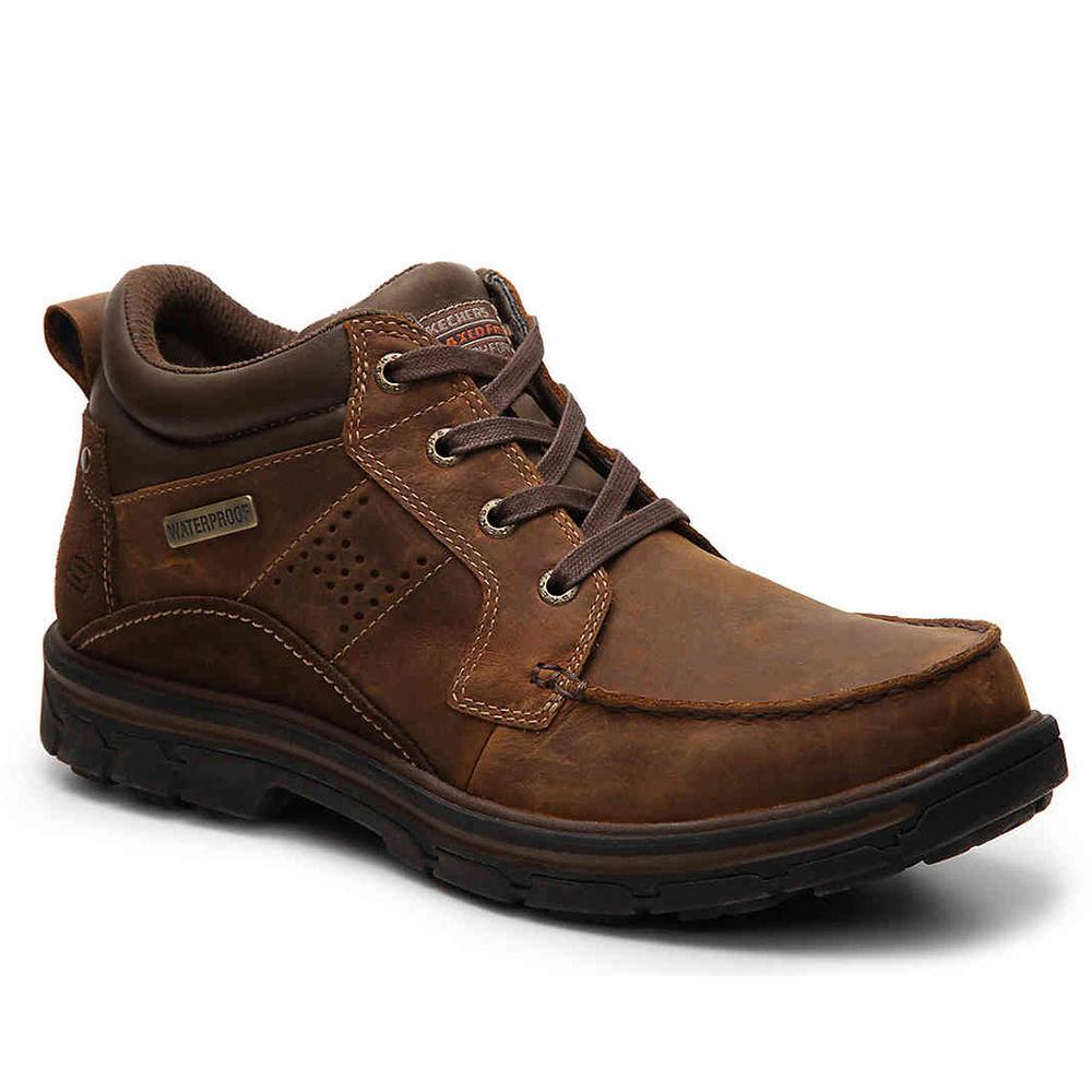 スケッチャーズ Skechers メンズ ハイキング・登山 シューズ・靴【Segment Melego Casual Shoe】Dark Brown