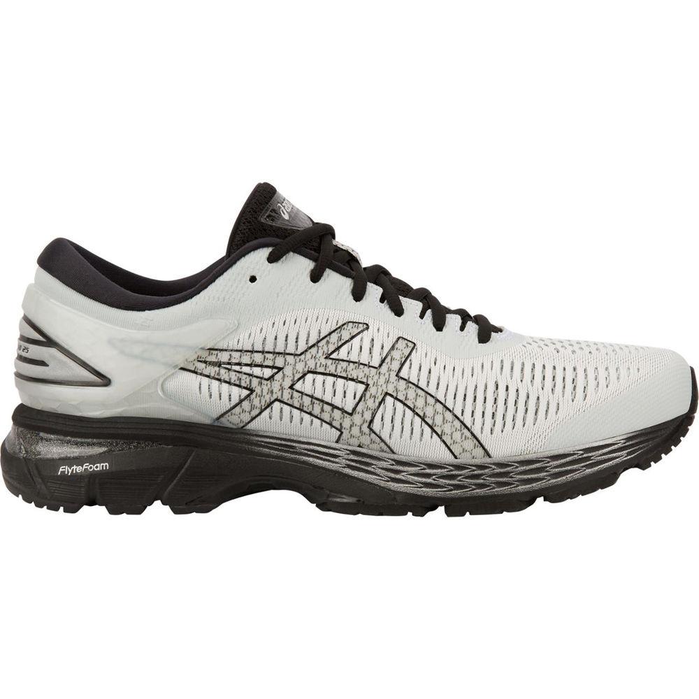 本物 アシックス ASICS 25 メンズ ランニング・ウォーキング シューズ アシックス・靴【GEL-Kayano 25 Running Running Shoe】Grey/Black, 山下果樹園:65a1d56f --- canoncity.azurewebsites.net