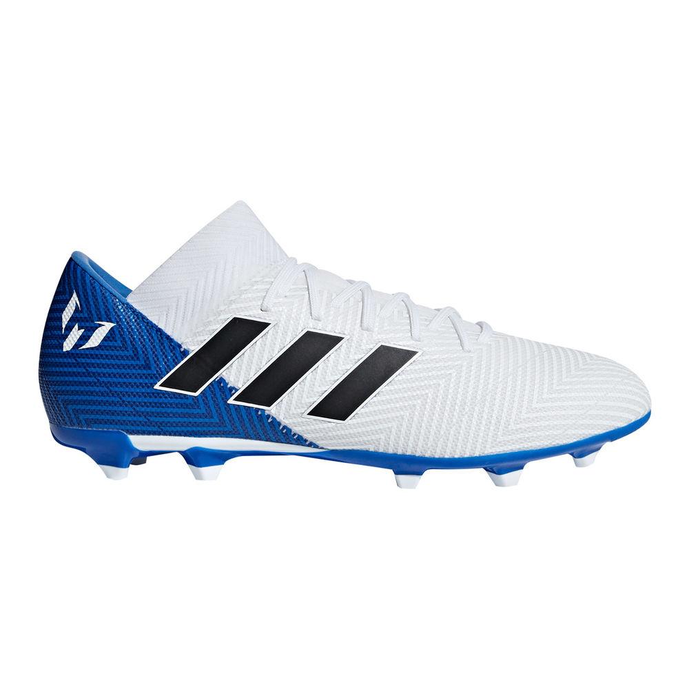 アディダス adidas メンズ サッカー シューズ・靴【Messi 18.3 Firm Ground Soccer Cleat】White/Blue