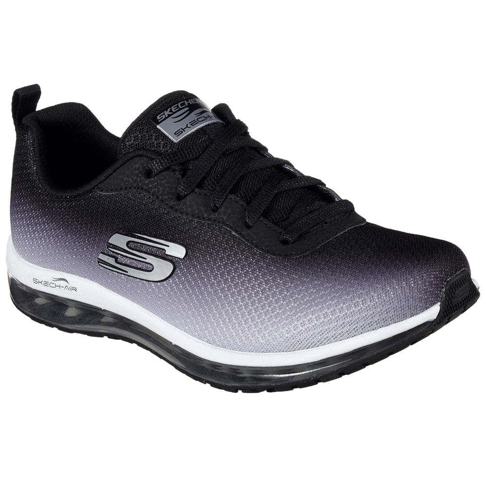 スケッチャーズ Skechers レディース フィットネス・トレーニング シューズ・靴【Air Element Training Shoe】Black/White