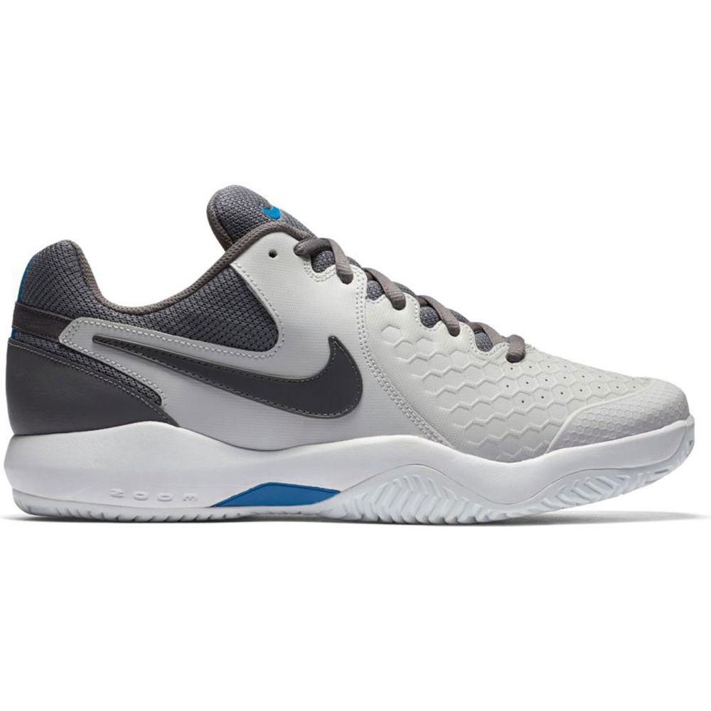 ナイキ Nike メンズ テニス シューズ・靴【Air Zoom Resistance Tennis Shoe】Grey/White