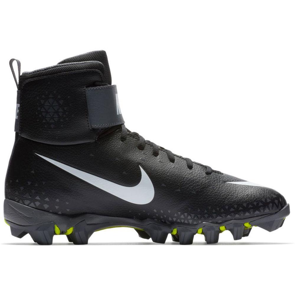 ナイキ Nike メンズ アメリカンフットボール シューズ・靴【Force Shark Football Cleat】Black/White