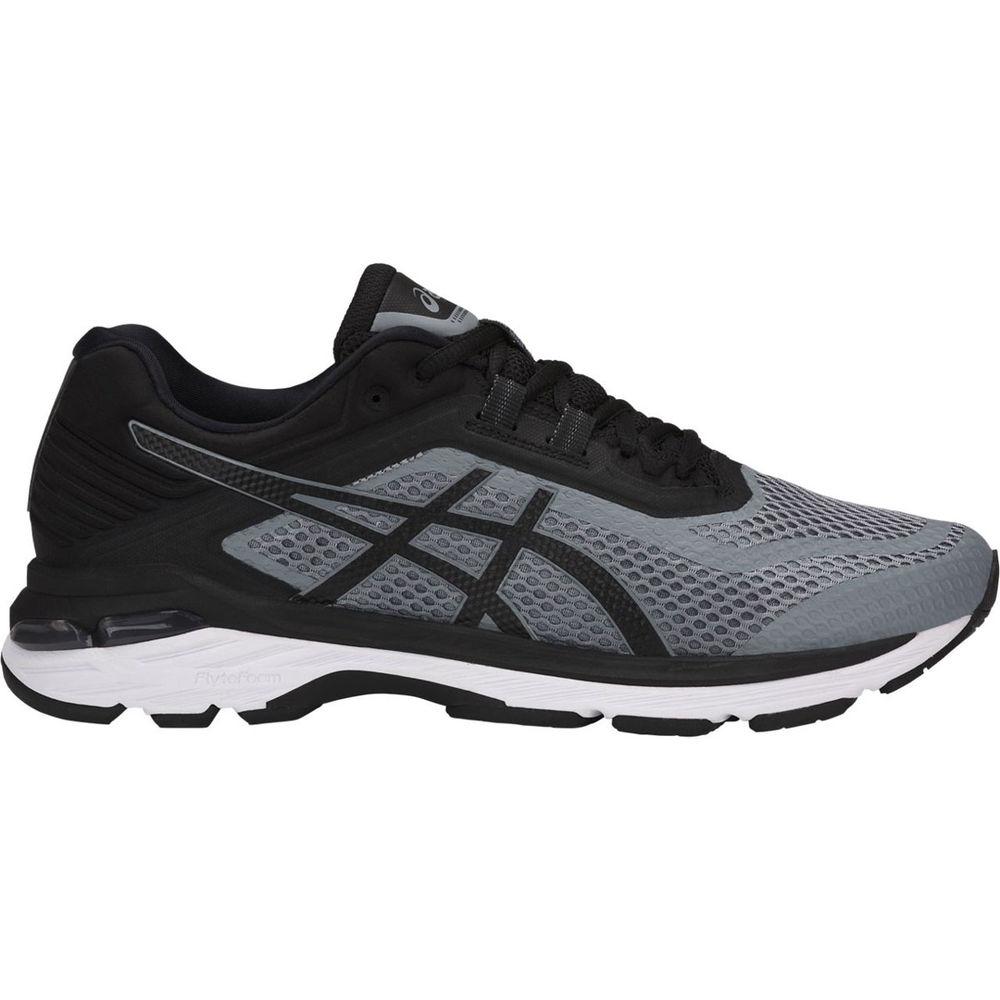 アシックス ASICS メンズ ランニング・ウォーキング シューズ・靴【Asics GT-2000 6 Running Shoe】Grey/Black/White