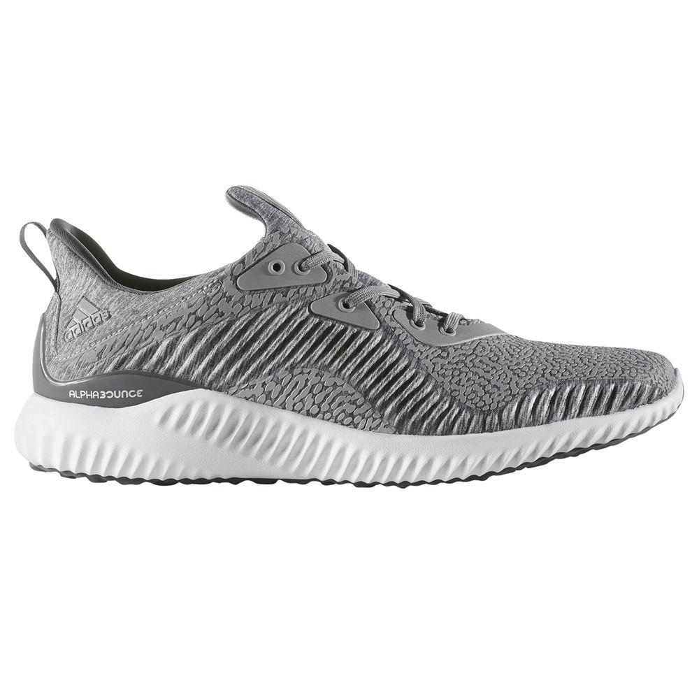 アディダス adidas メンズ ランニング・ウォーキング シューズ・靴【Alphabounce Running Shoe】Grey/White