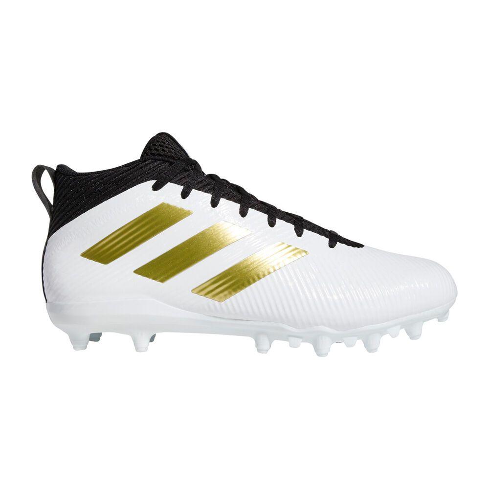 アディダス adidas メンズ アメリカンフットボール スパイク シューズ・靴【Freak Ghost Football Cleat】White/Gold