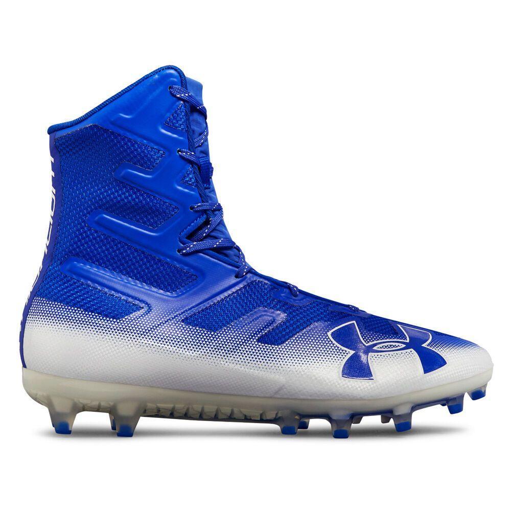 アンダーアーマー Under Armour メンズ アメリカンフットボール スパイク シューズ・靴【Highlight MC Football Cleat】Royal/White