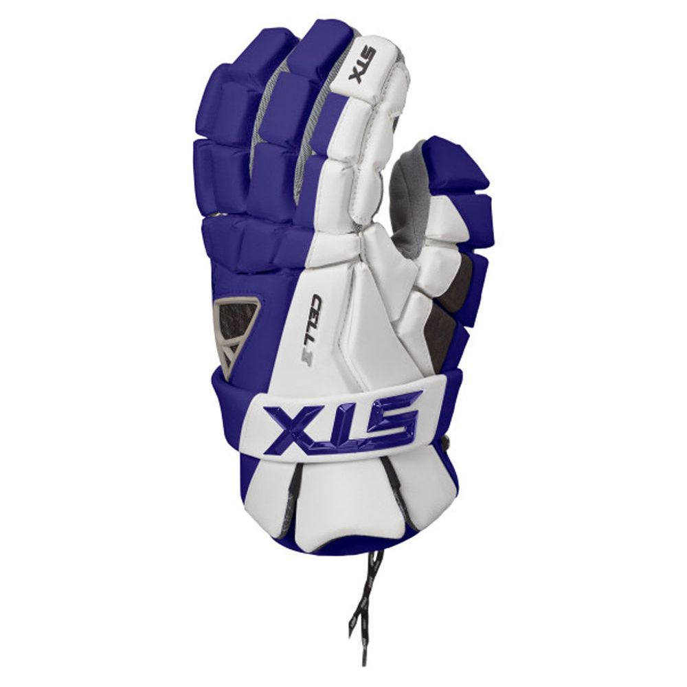 エスティーエックス STX ユニセックス ラクロス グローブ【Cell 4 Lacrosse Gloves Size Large】Navy