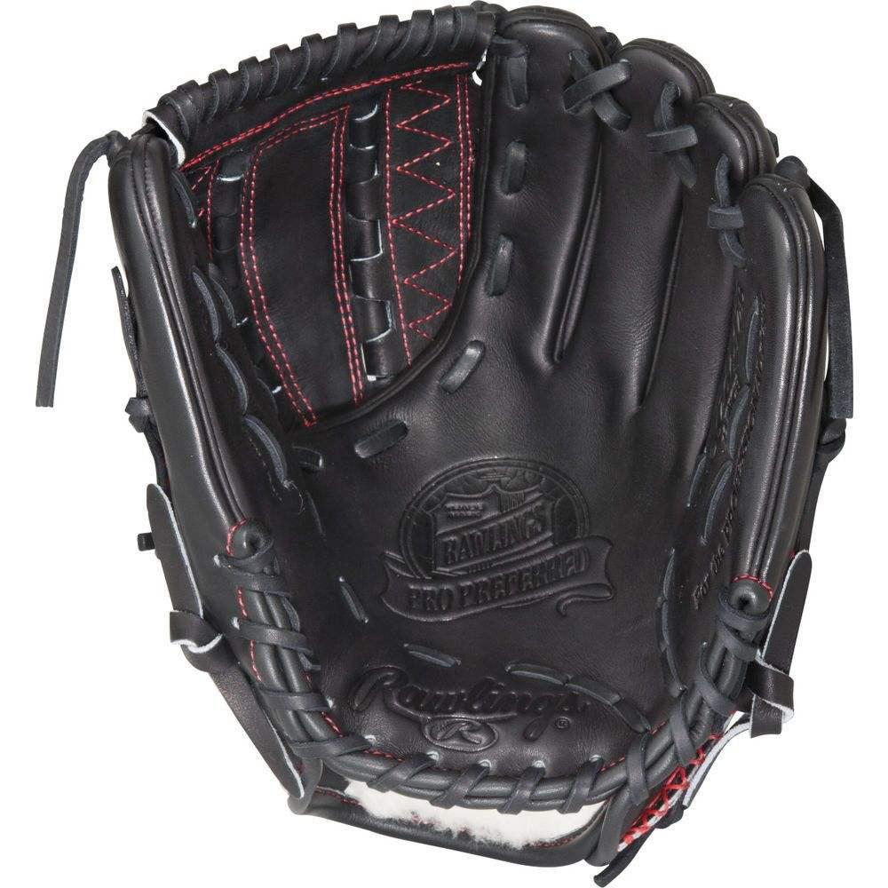 ローリングス ユニセックス 野球 グローブ Black/Red 【サイズ交換無料】 ローリングス Rawlings ユニセックス 野球 グローブ【Player Preferred 13 Inch Right Hand Throw Softball Glove】Black/Red