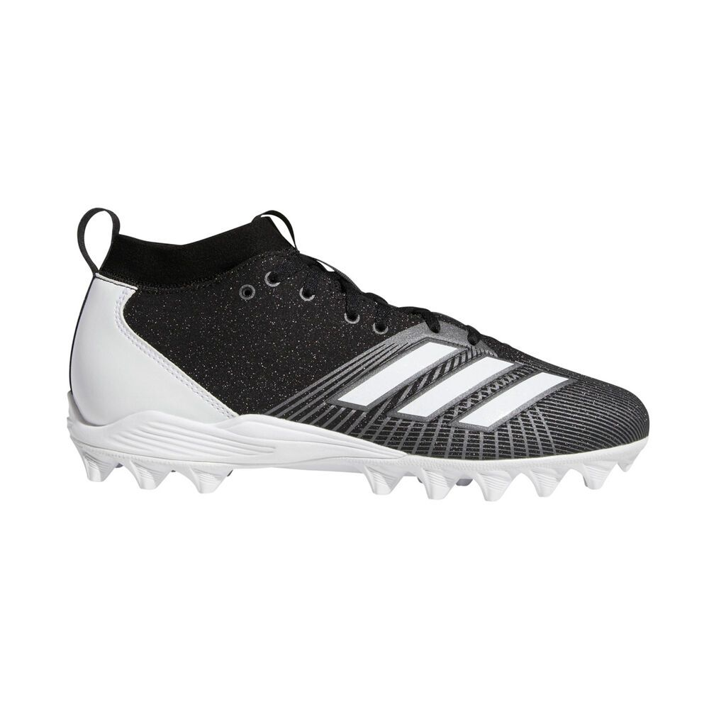 アディダス adidas メンズ アメリカンフットボール スパイク シューズ・靴【adiZero Spark MD Football Cleat】Black/White