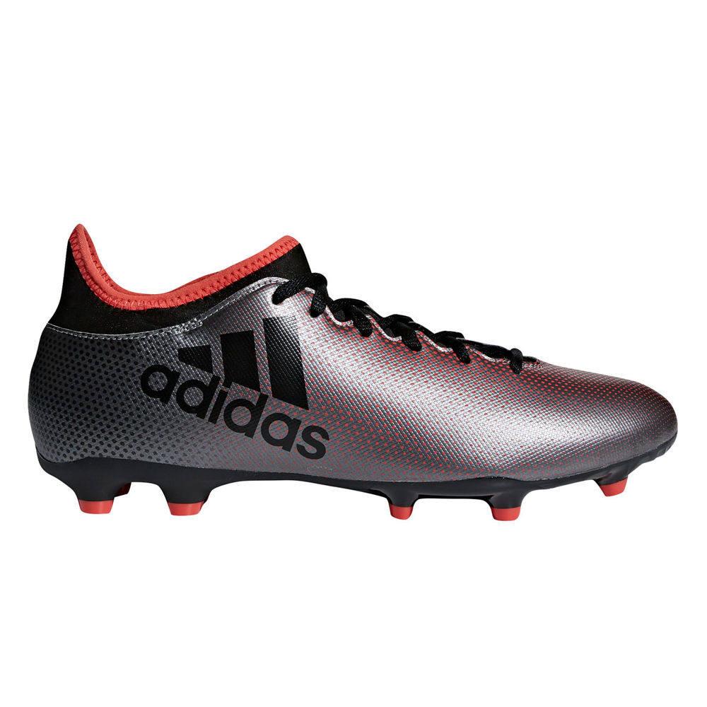 アディダス adidas メンズ サッカー シューズ・靴【X 17.3 Firm Ground Soccer Cleat】Grey/Black/Red