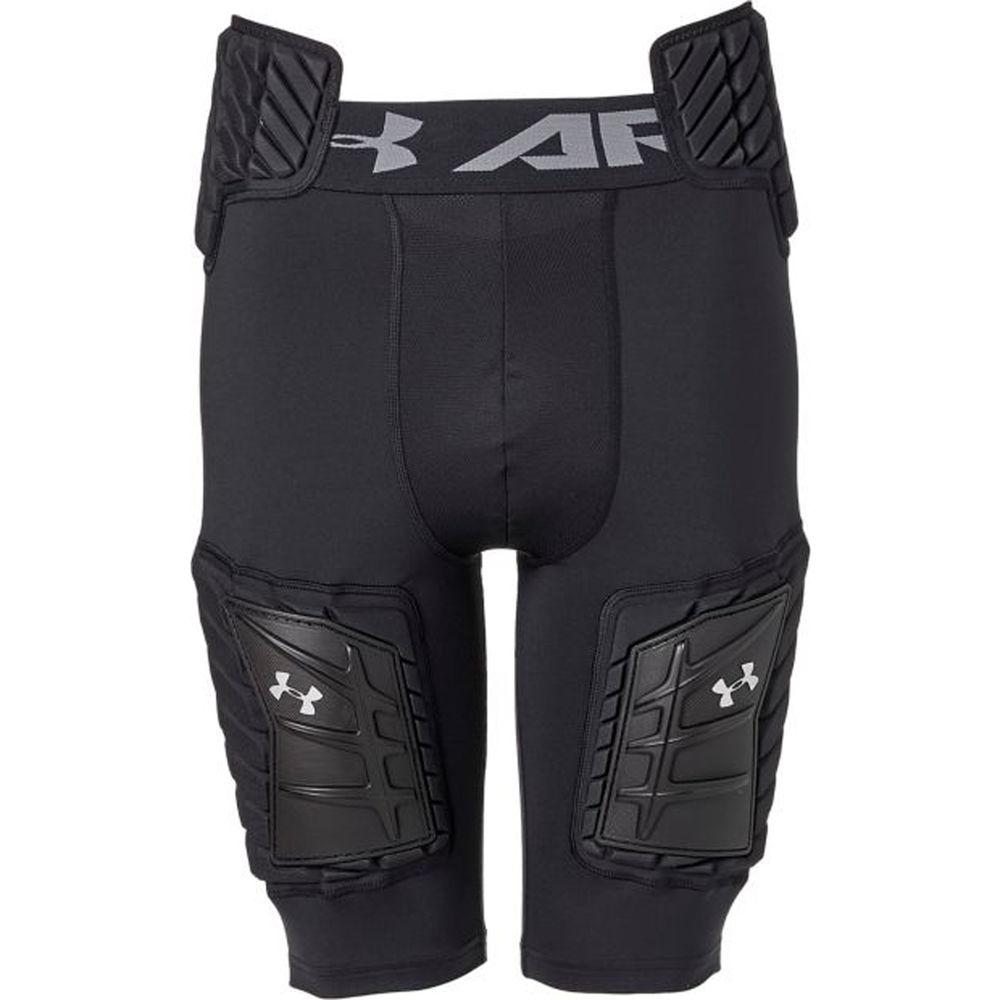 アンダーアーマー Under Armour メンズ アメリカンフットボール ボトムス・パンツ【Padded 5-Pad Adult Football Girdle】Black