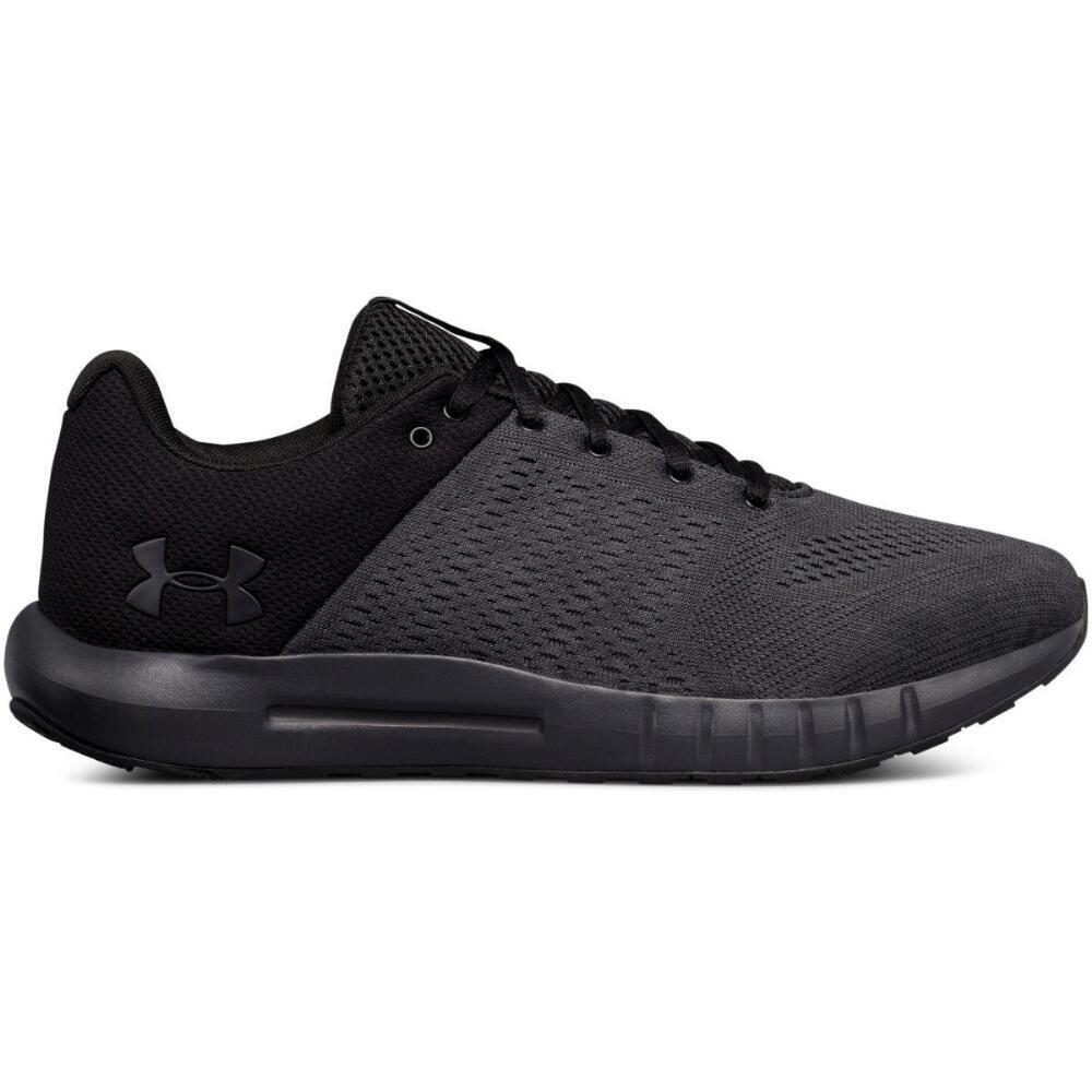 アンダーアーマー Under Armour メンズ ランニング・ウォーキング シューズ・靴【Micro G Pursuit Wide Width Running Shoe】Black/White