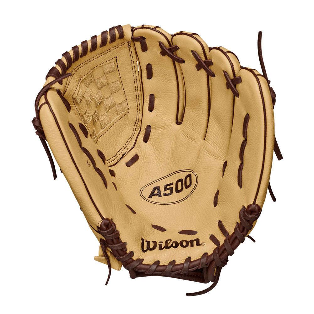 ウィルソン Wilson ユニセックス 野球 グローブ【A500 Adult 12 Inch Left Hand Throw Baseball Glove】Tan