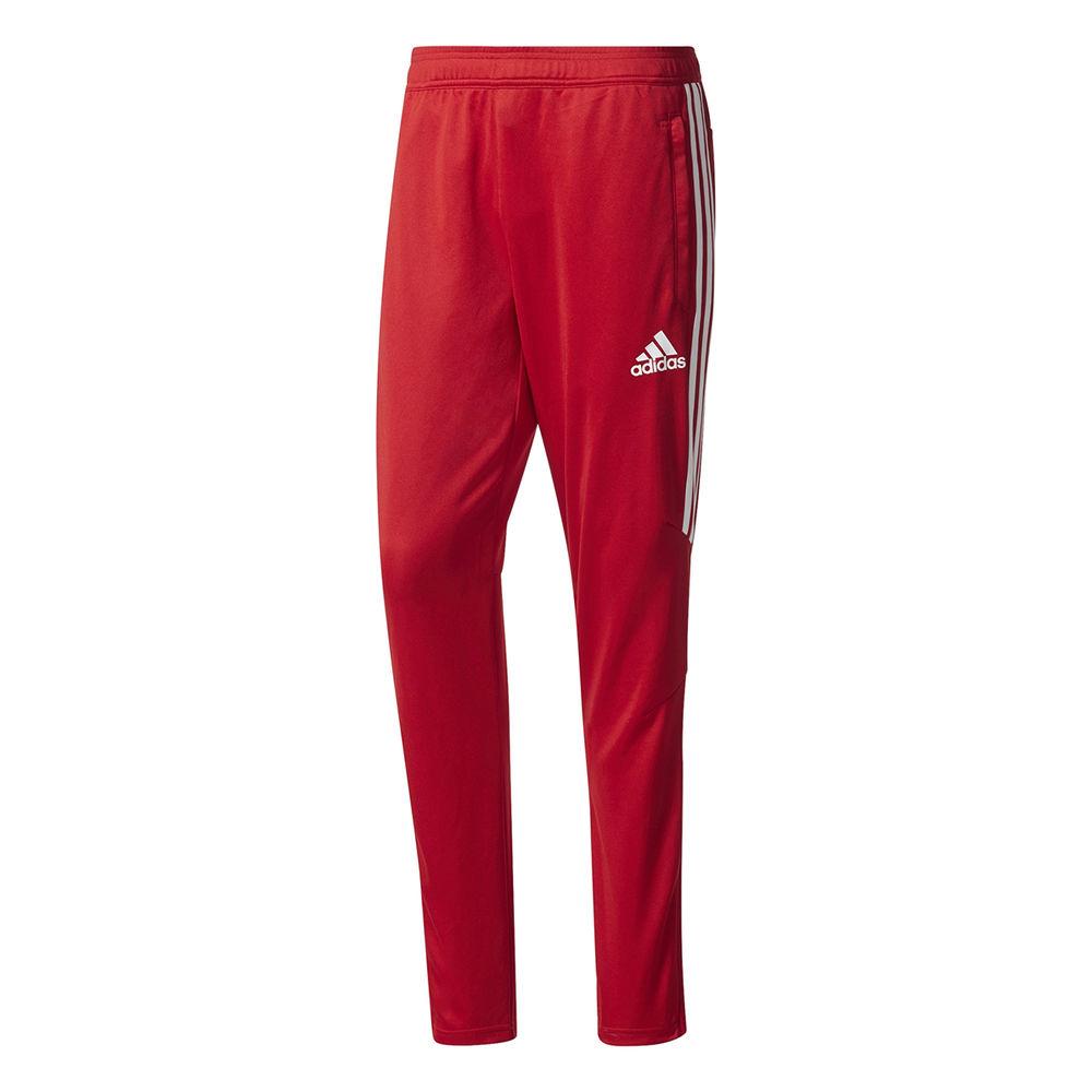 アディダス adidas メンズ サッカー ボトムス・パンツ【Tiro 17 Adult Training Pant】Red/White