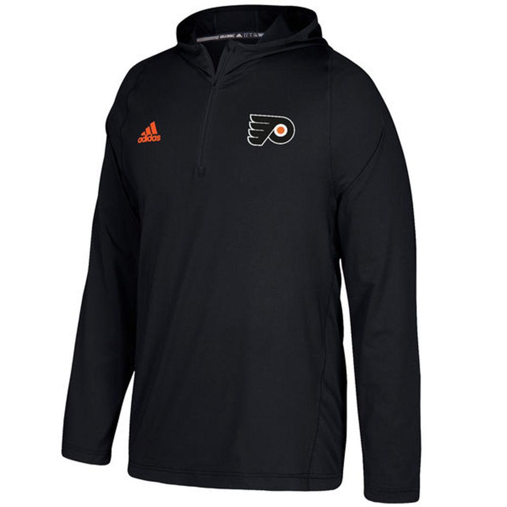 アディダス adidas メンズ トップス パーカー【Philadelphia Flyers Authentic Training Hoodie】Black
