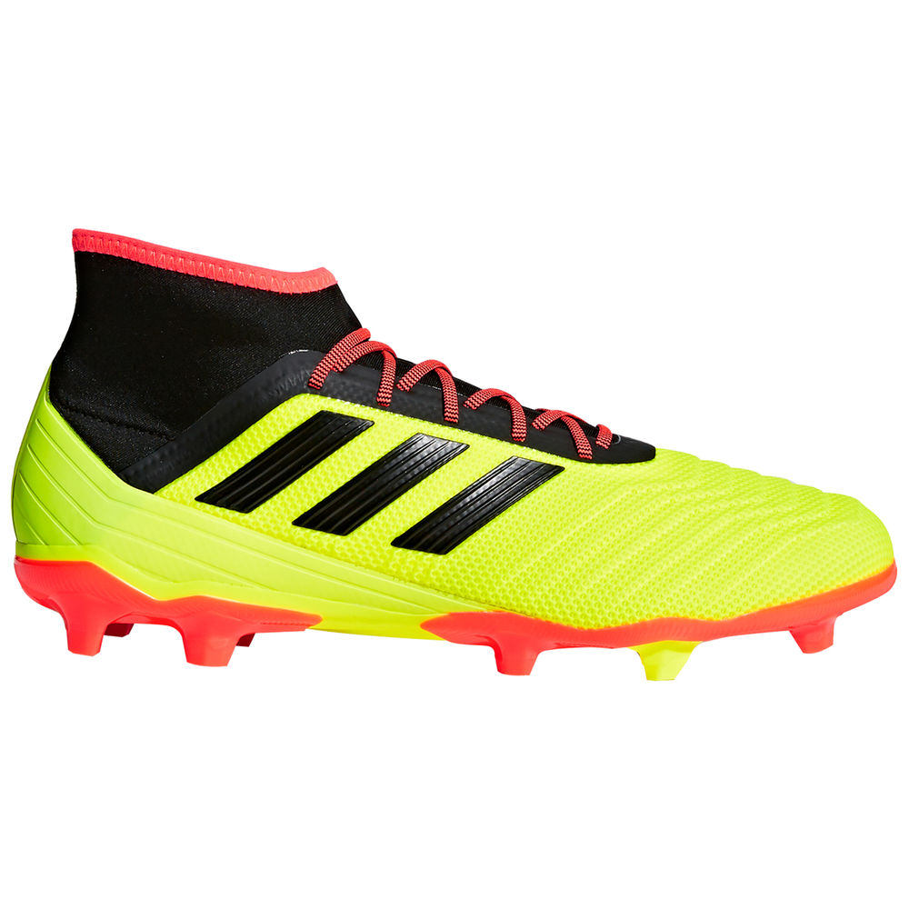 アディダス adidas メンズ サッカー シューズ・靴【Predator 18.2 Firm Ground Soccer Cleat】Yellow