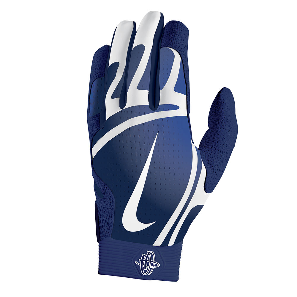ナイキ Nike ユニセックス 野球 グローブ【Huarache Pro Adult Batting Gloves】Navy/White