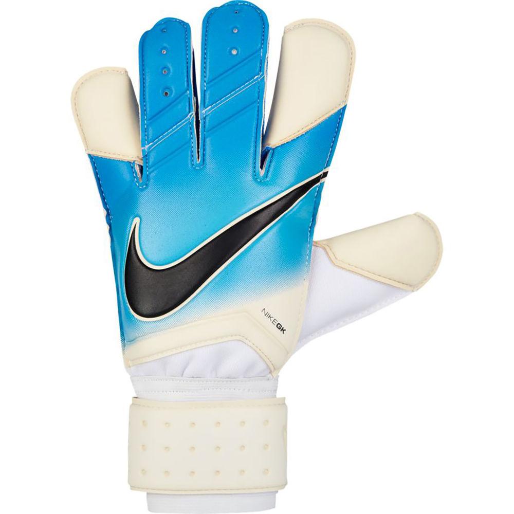 ナイキ Nike ユニセックス サッカー グローブ【Goalkeeper Grip 2.0 Soccer Glove】White/Blue