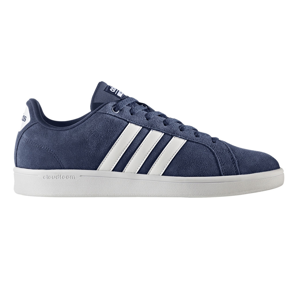 アディダス adidas メンズ シューズ・靴 スニーカー【Advantage Suede Casual Shoe】Blue/White