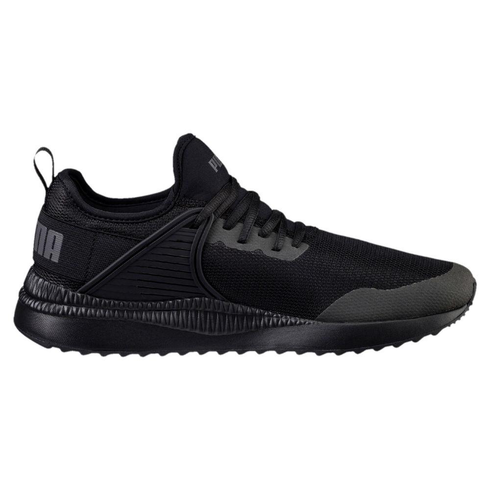 プーマ Puma メンズ ランニング・ウォーキング シューズ・靴【Racer Next Cage Running Shoe】Black/Black
