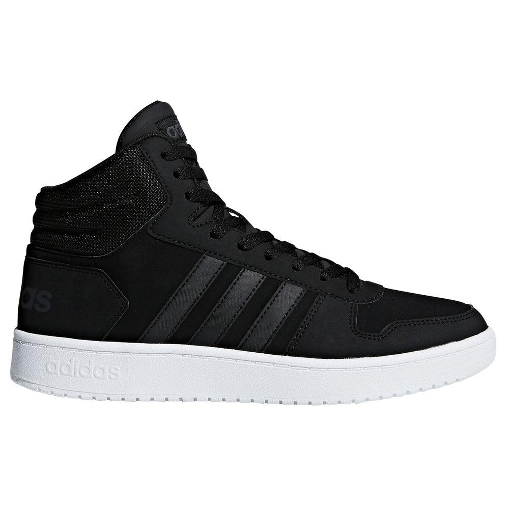 アディダス adidas メンズ バスケットボール シューズ・靴【Hoops 2.0 Mid Basketball Shoe】Black/Black