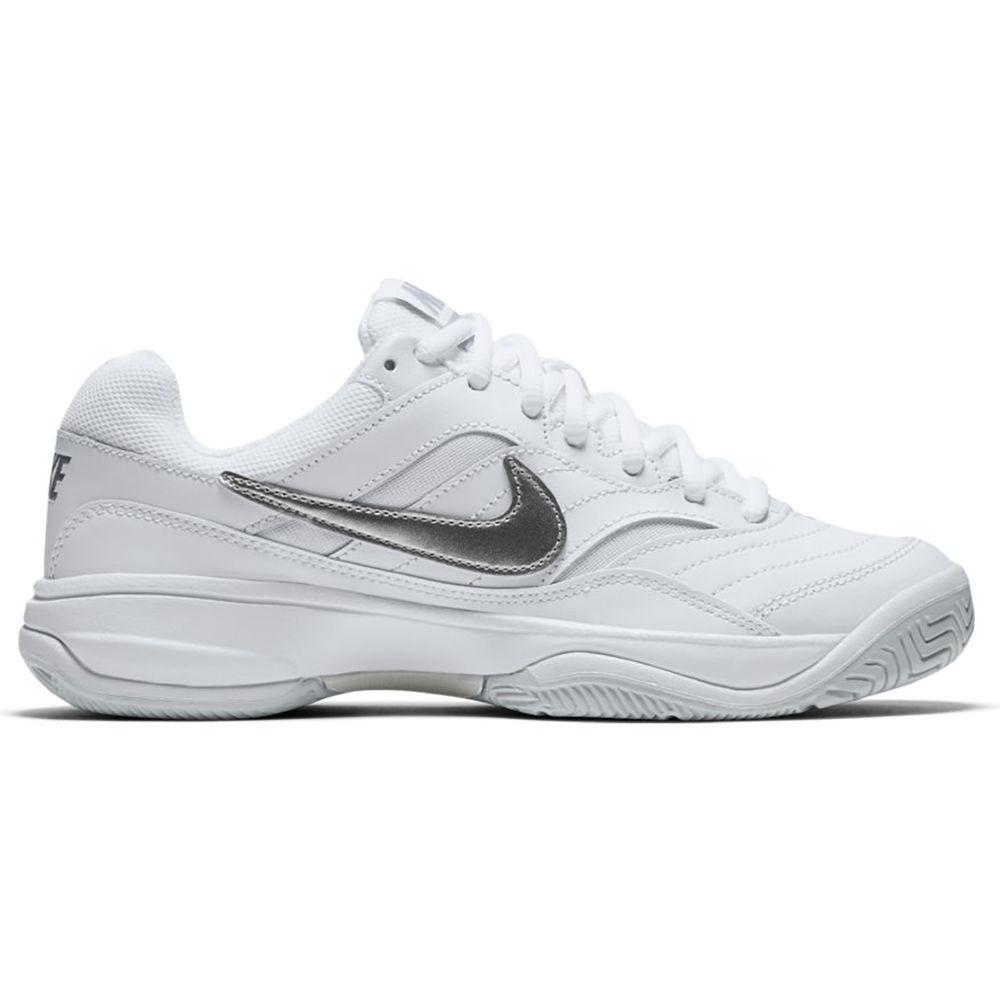 ナイキ Nike レディース テニス シューズ・靴【Court Lite Tennis Shoe】White/Silver