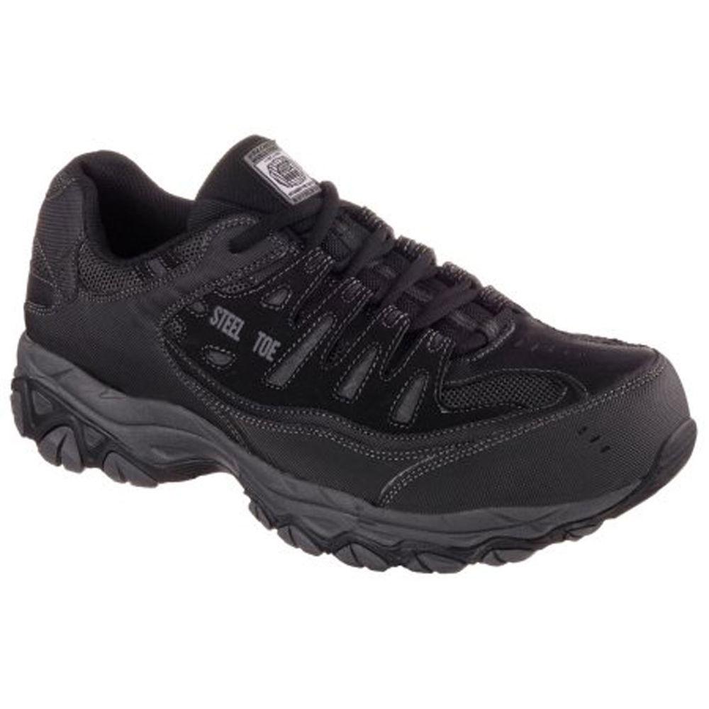 スケッチャーズ Skechers メンズ シューズ・靴 スニーカー【Crankton St Relaxed Fit Wide Width Work Shoe】Black