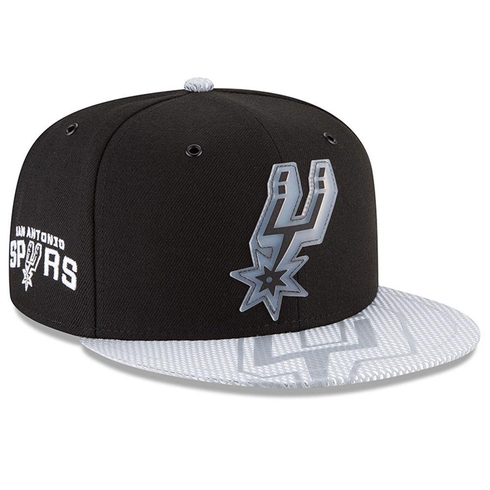 ニューエラ New Era ユニセックス 帽子 キャップ【San Antonio Spurs 9FIFTY Snapback Hat】Black