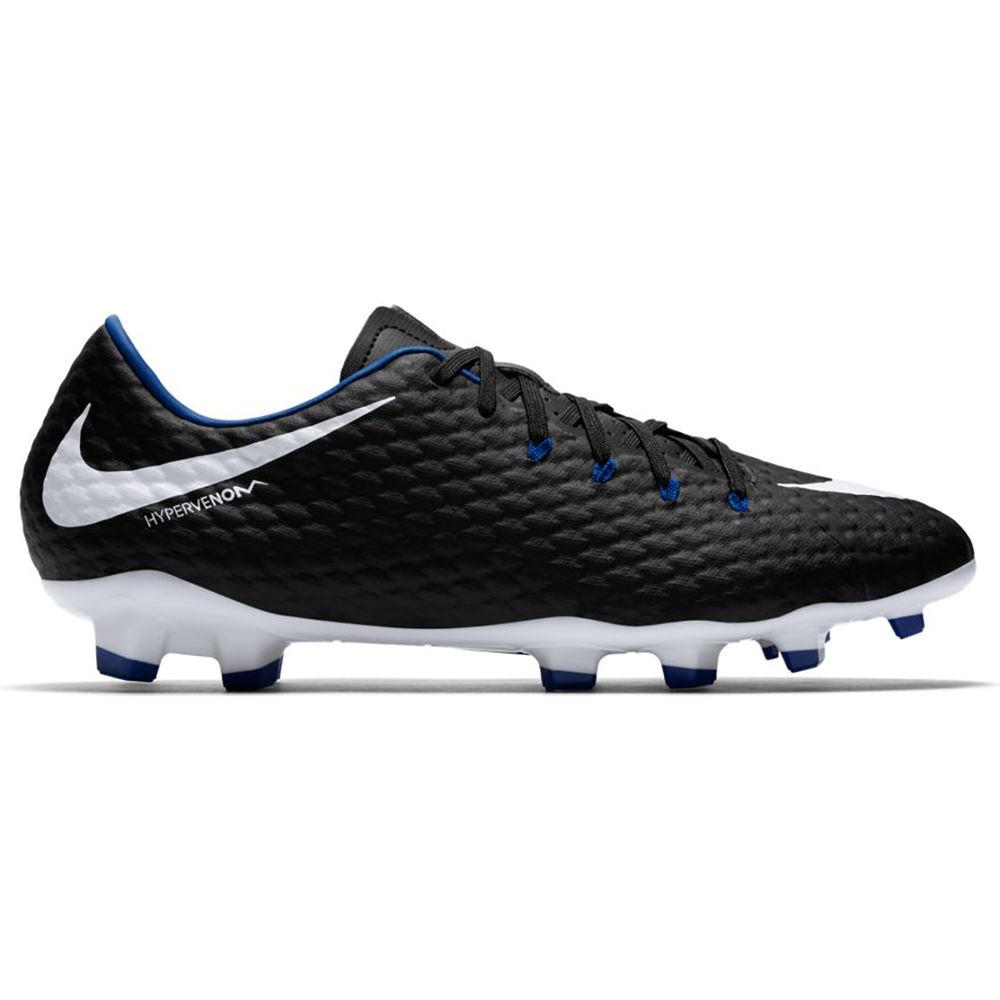 ナイキ Nike メンズ サッカー シューズ・靴【Hypervenom Phelom III Firm Ground Soccer Cleat】Black/Royal