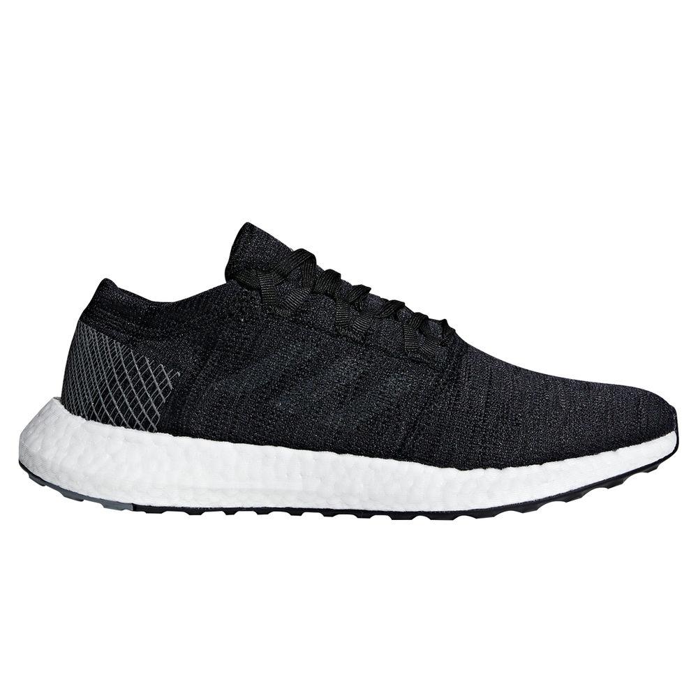 アディダス adidas メンズ ランニング・ウォーキング シューズ・靴【Pure Boost Element Running Shoe】Black/White