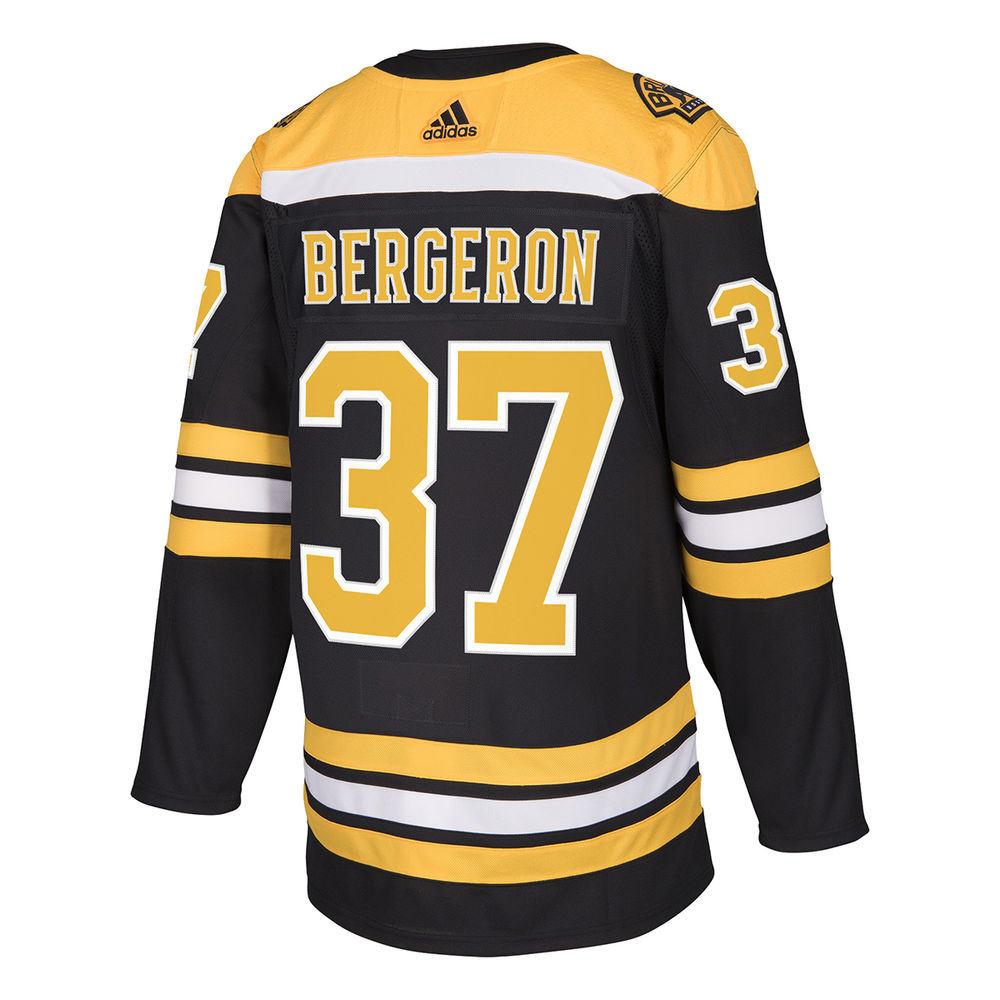 アディダス adidas メンズ トップス【Boston Bruins Adult Patrice Bergeron Authentic Jersey】Black