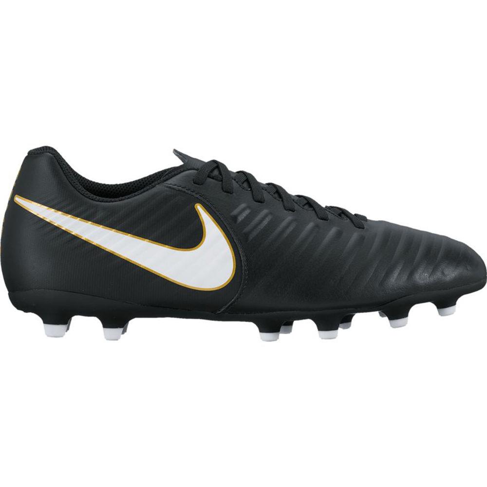 ナイキ Nike メンズ サッカー シューズ・靴【Tiempo Rio IV (FG) Soccer Cleat】Black/White
