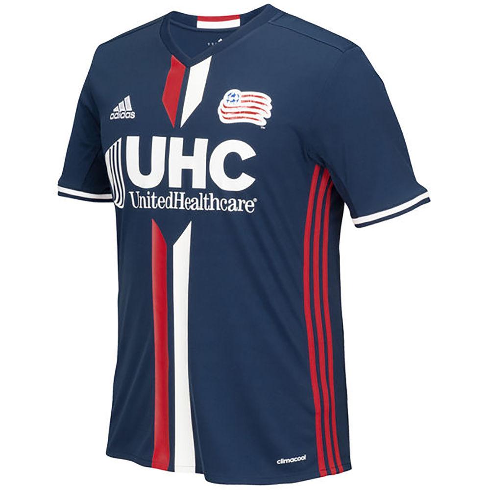 アディダス adidas メンズ サッカー トップス【New England Revolution Adult Primary Replica Short Sleeve Home Jersey】Black
