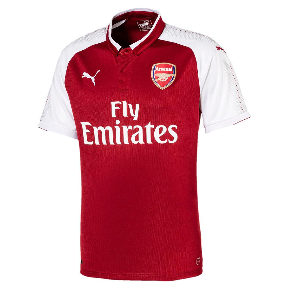 プーマ Puma メンズ サッカー トップス【Arsenal Adult 2017-2018 Home Jersey】Red