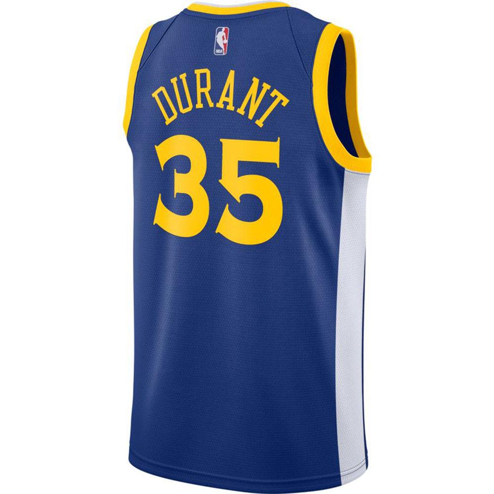 ナイキ Nike メンズ トップス【Golden State Warriors Adult Kevin Durant Swingman Jersey】Royal