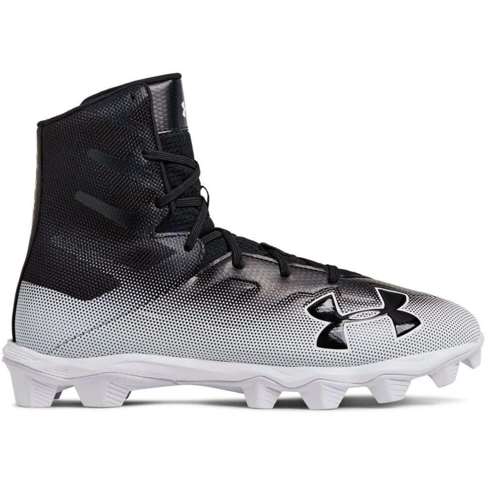 アンダーアーマー Under Armour メンズ アメリカンフットボール シューズ・靴【Highlight RM Football Cleat】Black/White