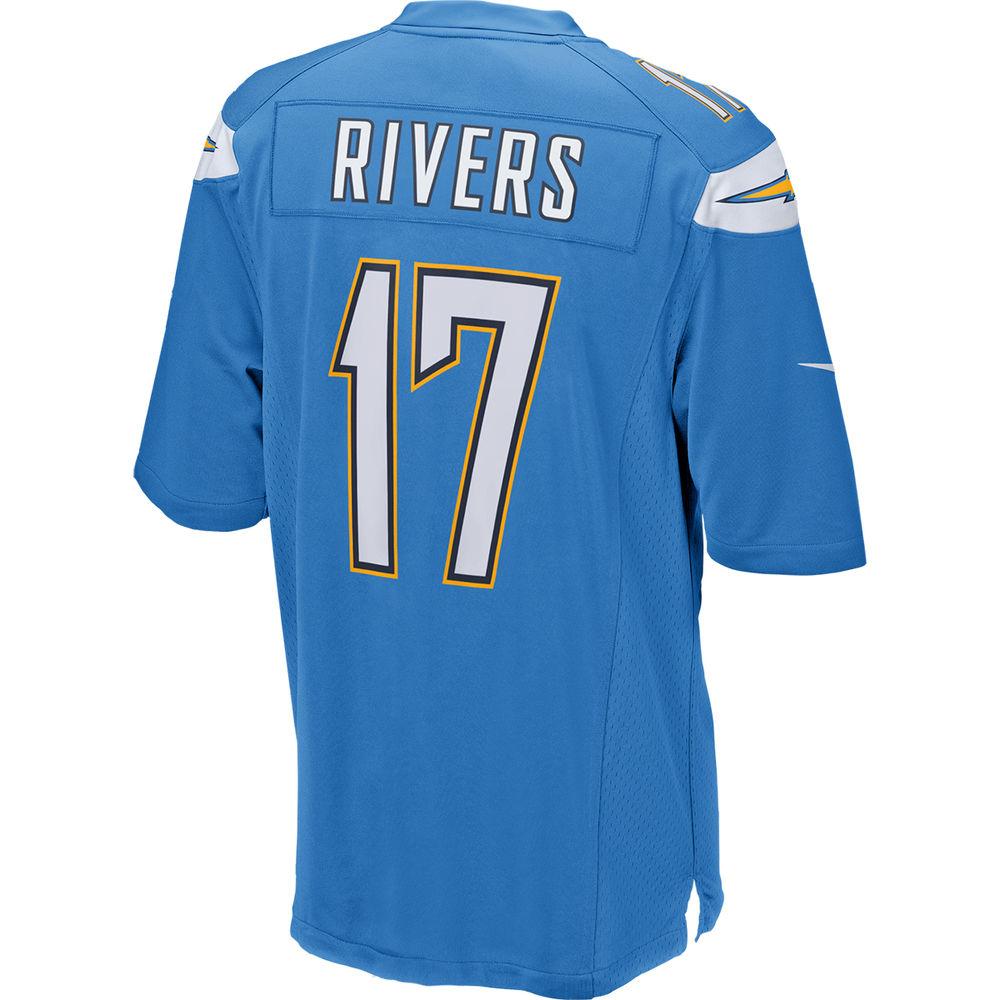 ナイキ Nike メンズ トップス【Los Angeles Chargers Adult Philip Rivers Game Jersey】Light Blue