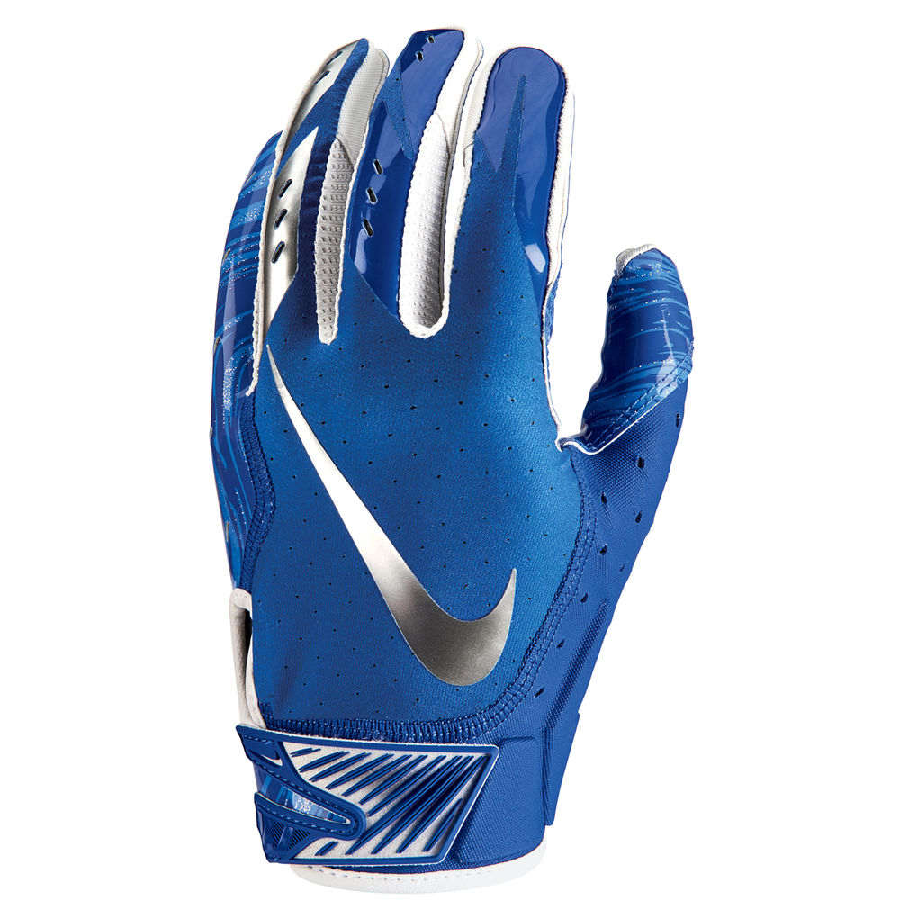 ナイキ Nike ユニセックス アメリカンフットボール グローブ【Vapor Jet Adult Football Glove】Royal