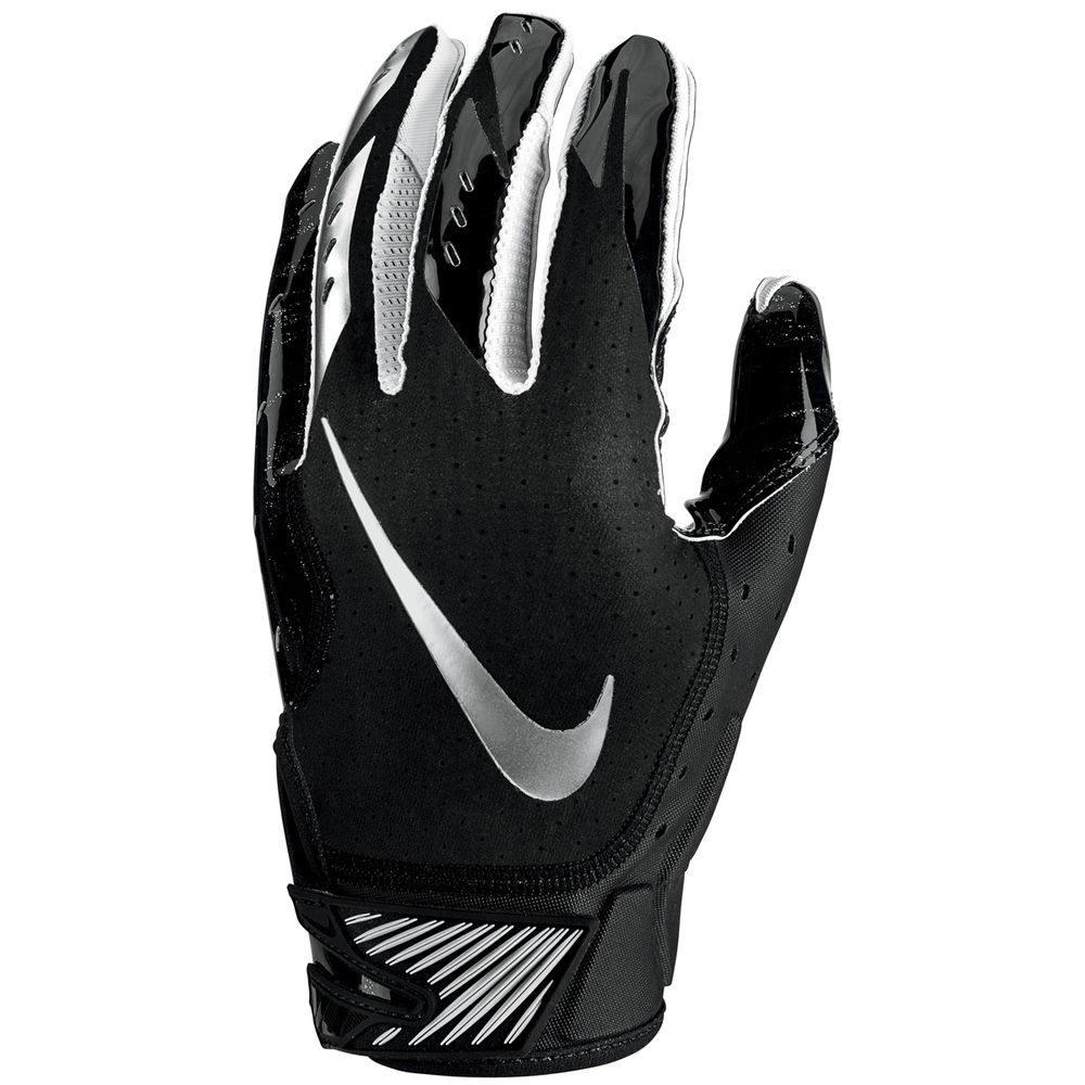 ナイキ Nike ユニセックス アメリカンフットボール グローブ【Vapor Jet Adult Football Glove】Black