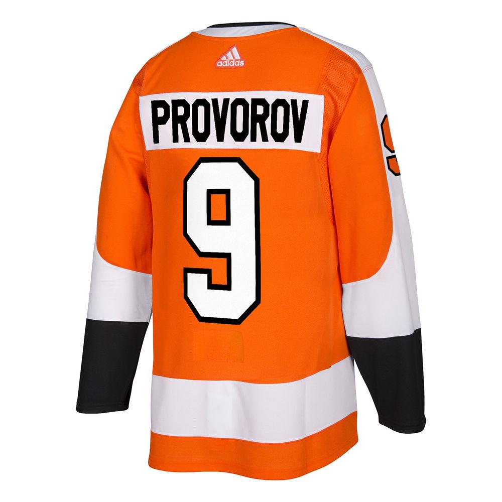アディダス adidas メンズ トップス【Philadelphia Flyers Adult Ivan Provorov Authentic Jersey】Orange