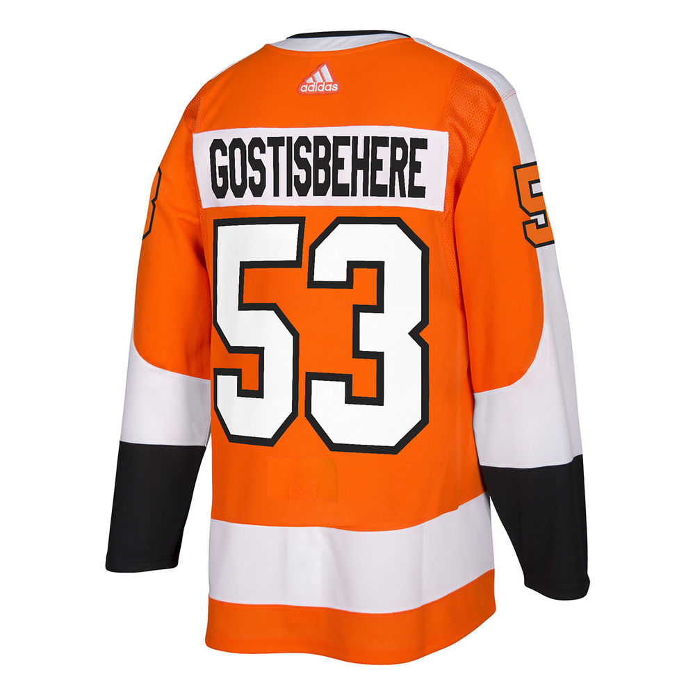 アディダス adidas メンズ トップス【Philadelphia Flyers Adult Shayne Gostisbehere Authentic Jersey】Orange