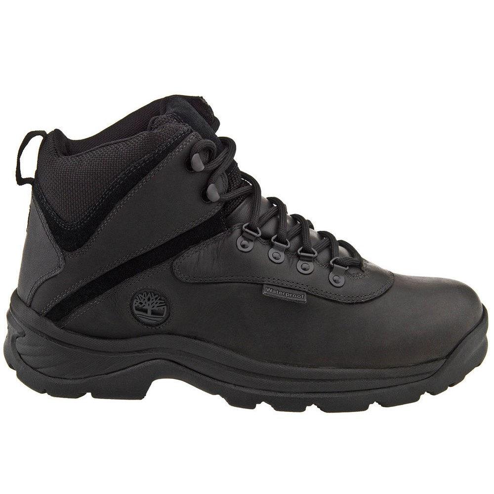 ティンバーランド Timberland メンズ ハイキング・登山 シューズ・靴【White Ledge Mid WP Boot】Black