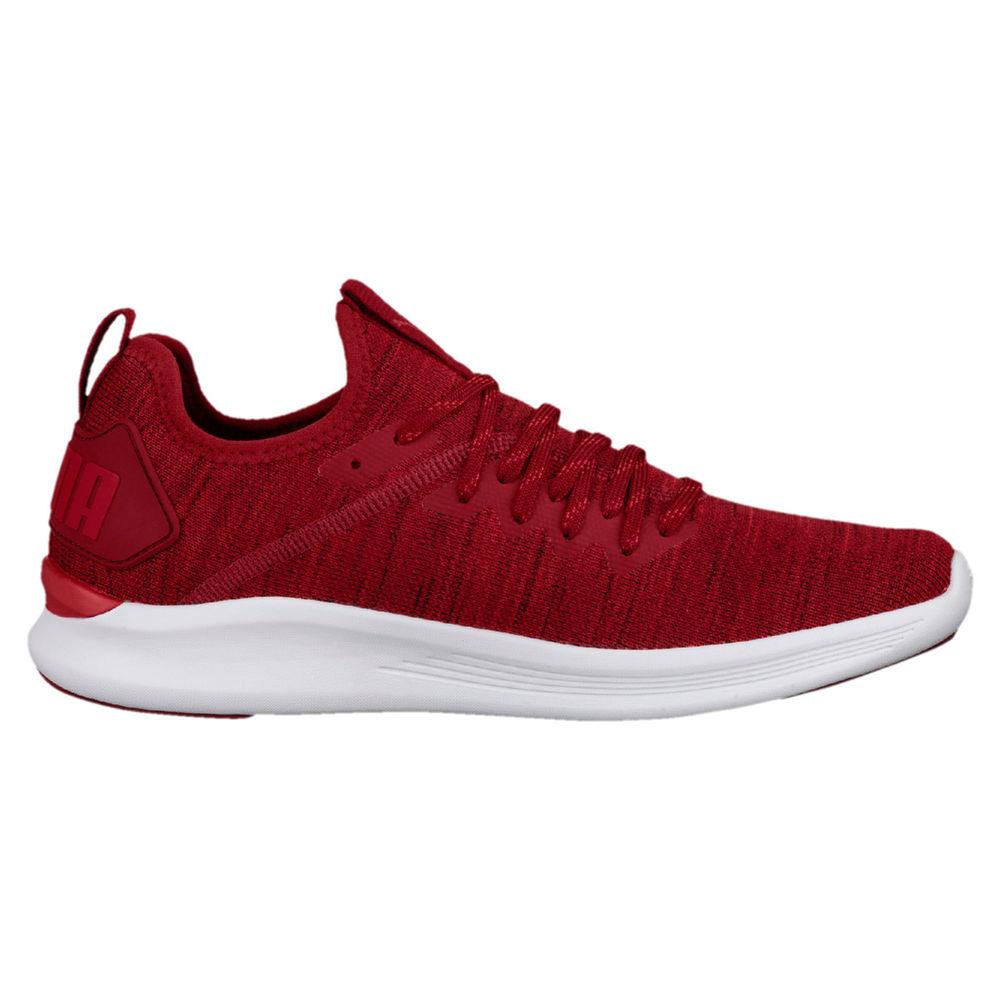 プーマ Puma メンズ フィットネス・トレーニング シューズ・靴【Ignite Flash Evoknit Training Shoe】Red/White