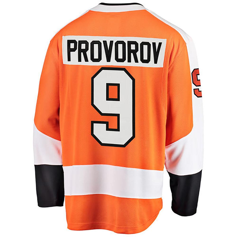 ファナティクス Fanatics メンズ トップス【Philadelphia Flyers Adult Ivan Provorov Player Jersey】Orange